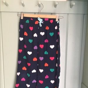 Gap heart cotton pajama bottoms